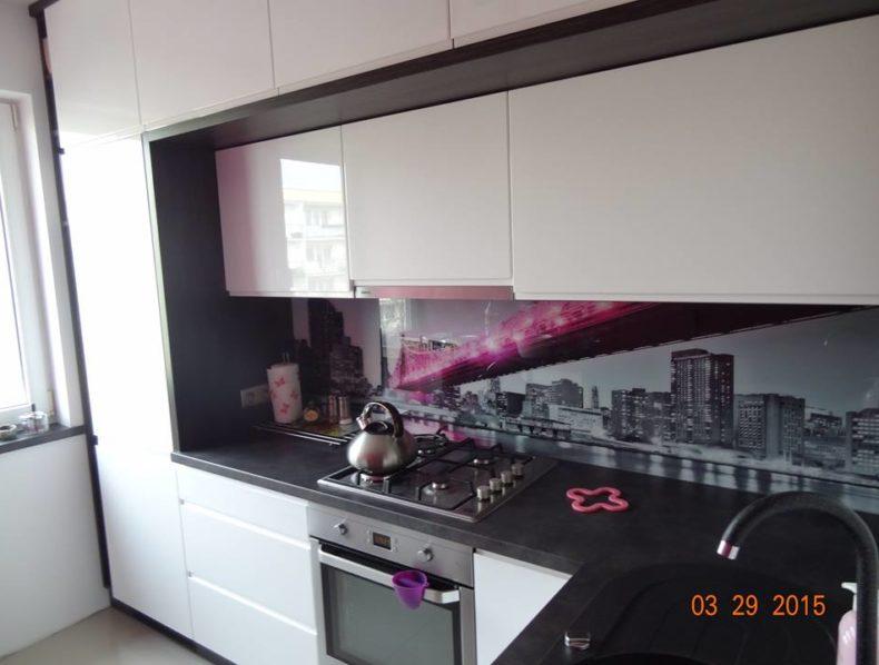 Kuchnia lakier wysoki połysk